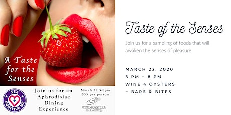A Taste for the Senses tickets