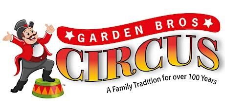 Garden Bros Circus tickets