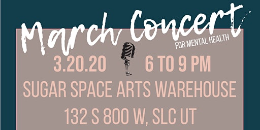 March Concert & Open Mic Night For Mental Health