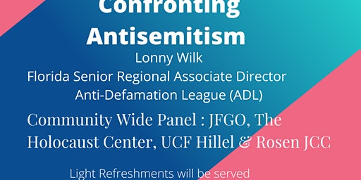 No Place for Hate: Confronting Antisemitism