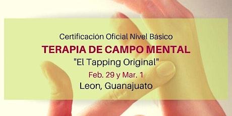 Certificación Oficial en Terapia de Campo Mental Nivel Básico  boletos