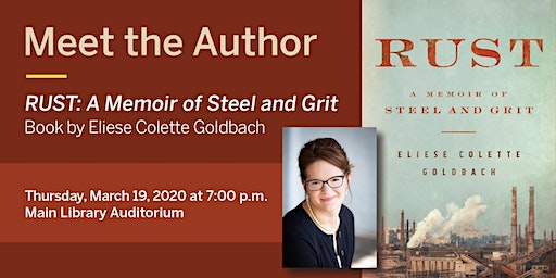 Meet the Author–RUST: A Memoir of Steel and Grit