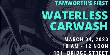 Grand Opening of Tamworth's 1st Waterless Carwash tickets