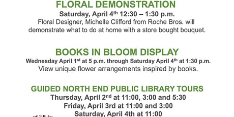 Books in Bloom tickets