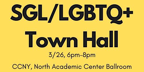 SGL/LGBTQ+ Town Hall & Awards Ceremony