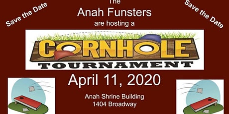 Anah Funsters 2nd Annual Cornhole Tournament tickets