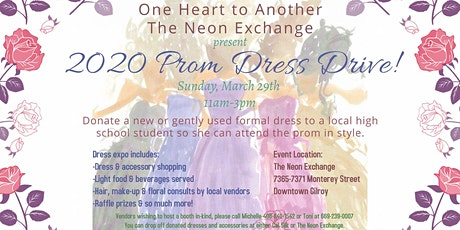 2020 Prom Dress Drive tickets