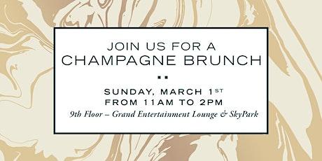 Verse Condos' Champagne Bruch Event tickets