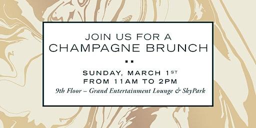 Verse Condos' Champagne Bruch Event