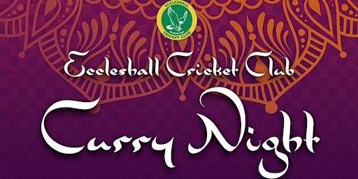 Eccleshall CC Curry Night