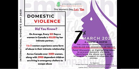 Let's Talk Domestic Violence tickets