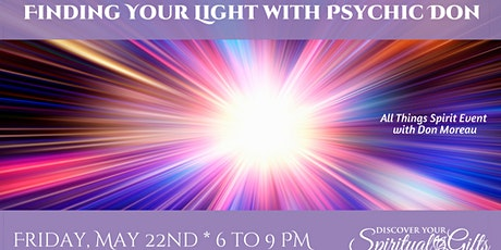 Finding Your Light with Psychic Don Moreau tickets