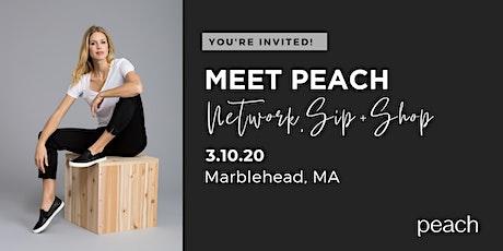 Meet Peach Sip + Shop  | Marblehead, MA tickets