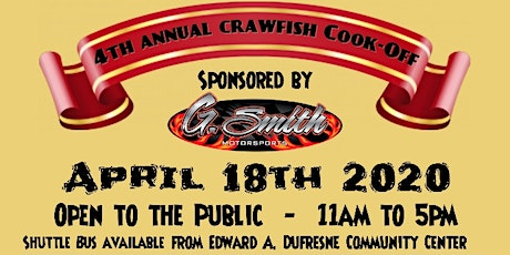 4th Annual St. Charles Parish First Responder Crawfish Cook-Off tickets