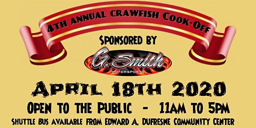 4th Annual St. Charles Parish First Responder Crawfish Cook-Off