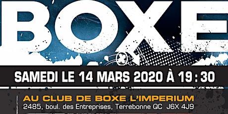 36e Gala de Boxe au Club de Boxe L'Imperium tickets