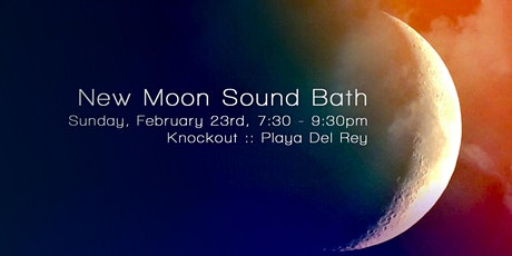 New Moon Sound Bath tickets