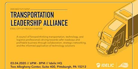 Transportation Leadership Alliance 2020 Meetup tickets