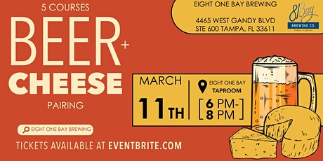 TBW Beer, Charcuterie And Cheese Pairing tickets