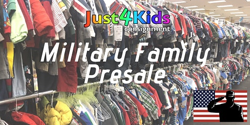 Just4Kids' Military Family Presale