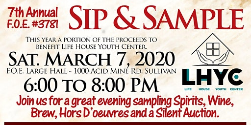 F.O.E. Sip and  Sample 2020