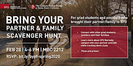 Bring your Partner & Family: Scavenger Hunt tickets
