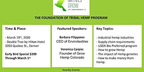 Tribal Hemp Workshop - Denver / Mar 19 tickets