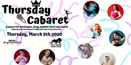 Thursday Cabaret-Fit for a Queen tickets