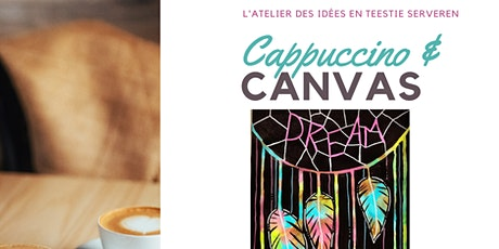 Cappuccino & Canvas - Fun art Workshop voor tieners  (14 -18jr) - Dream tickets