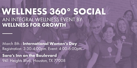 Wellness 360 by Wellness for Growth tickets