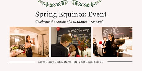 Spring Equinox Event // Skin + Soul Renewal tickets