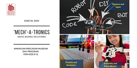 Day Camp at APM:  'Mech'-A-Tronics tickets