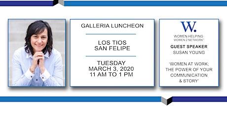 WHW2N - Luncheon - Galleria tickets