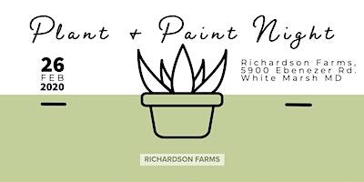 Plant & Paint Night