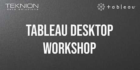 Tableau Desktop Workshop tickets