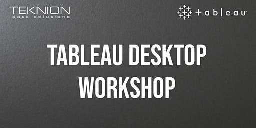 Tableau Desktop Workshop
