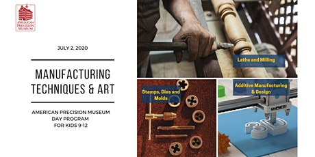 Day Camp at APM:  Manufacturing Techniques and Art tickets