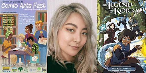 Q&A With Irene Koh, Artist of The Legend of Korra: Turf Wars - A PLCAF Event