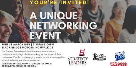Come play the Owners Game - Unique Networking for Business Owners tickets