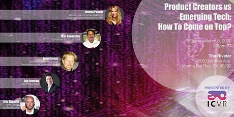 Product Creators vs Emerging Tech: How to Come on Top? tickets