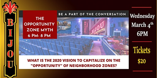 The Opportunity Zone Myth
