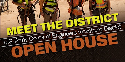 USACE Vicksburg District Meet the District Open House
