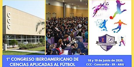 1er. Congreso Iberoamericano de Ciencias Aplicadas al Fútbol entradas