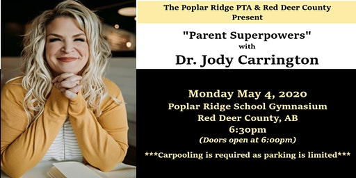 """""""Parent Superpowers"""" with Dr. Jody Carrington"""