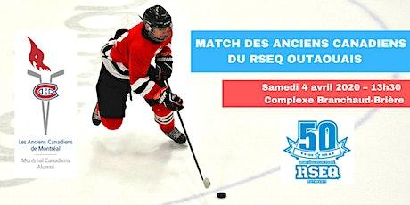 Match des Anciens Canadiens du RSEQ Outaouais tickets