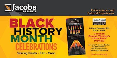 "Common Ground Theatre's ""Little Rock"" tickets"