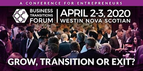 Business Transitions Forum Atlantic tickets