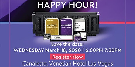 WD and PLPC ISC West 2020 Happy Hour tickets