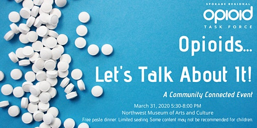 Opioids... Let's Talk About It! A Community Connected Event