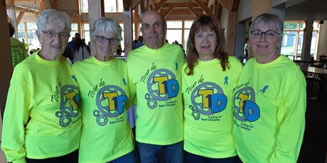 Tour de T1D 2020 - Volunteer page tickets